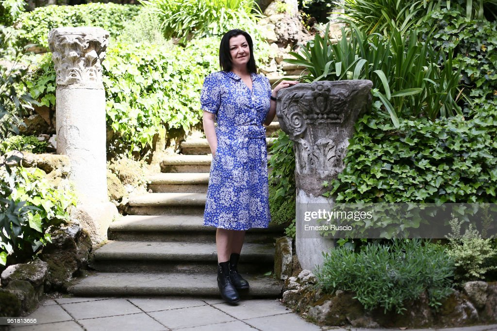 Director Lynne Ramsey attends 'A Beautiful Day' photocall at Hotel De Russie on April 27, 2018 in Rome, Italy.
