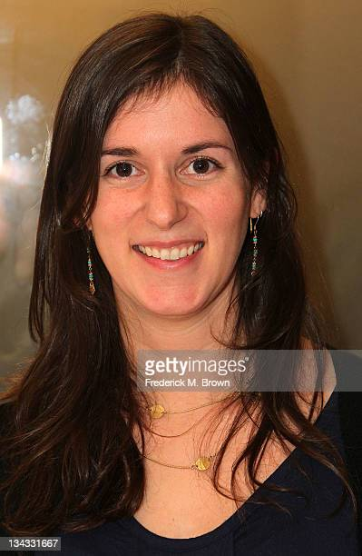 Director Madeleine Sackler attends The Academy of Motion Picture Arts and Sciences' Screening Of The Lottery And Waiting For Superman at the Linwood...