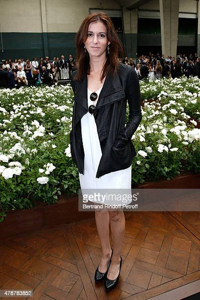 Director Madeleine Sackler attends the Dior Homme Menswear Spring/Summer 2016 show as part of Paris Fashion Week on June 27 2015 in Paris France