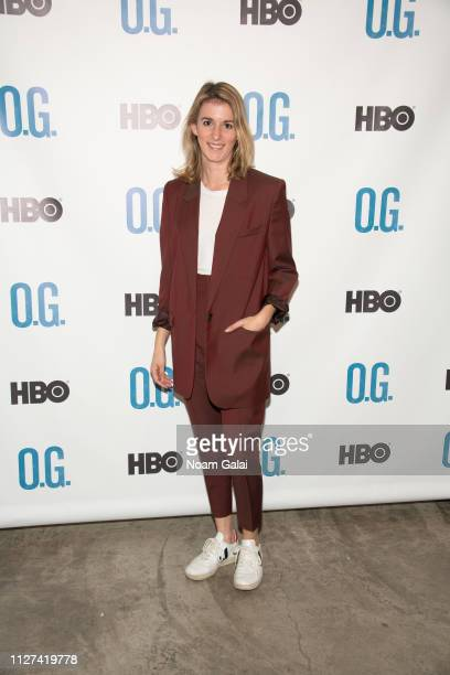 Director Madeleine Sackler attends The OG Experience by HBO at Studio 525 on February 23 2019 in New York City
