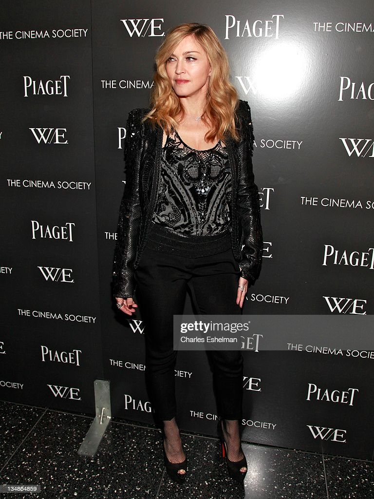 """The Cinema Society & Piaget Host A Screening Of """"W.E."""" - Inside Arrivals : News Photo"""