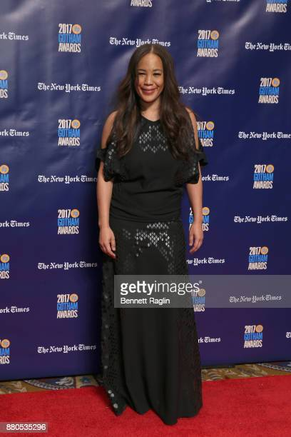 Director Maggie Betts attends the 2017 Gotham Awards sponsored by Greater Ft Lauderdale Tourism at Cipriani Wall Street on November 27 2017 in New...