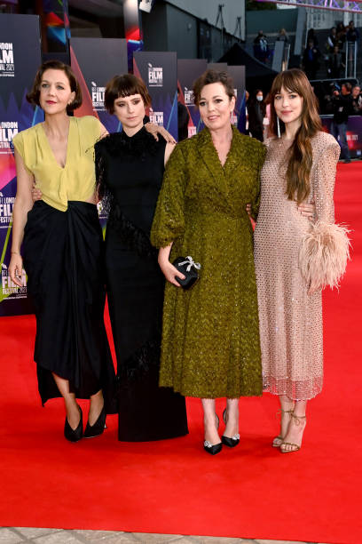 "GBR: ""The Lost Daughter"" UK Premiere - 65th BFI London Film Festival - VIP Access"
