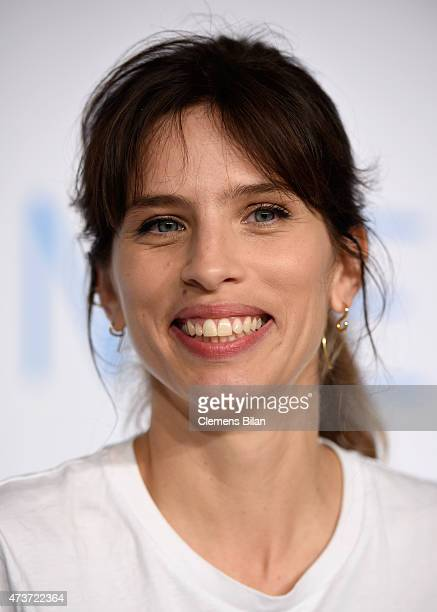 Director Maiwenn attends the press conference for 'Mon roi' during the 68th annual Cannes Film Festival on May 17 2015 in Cannes France