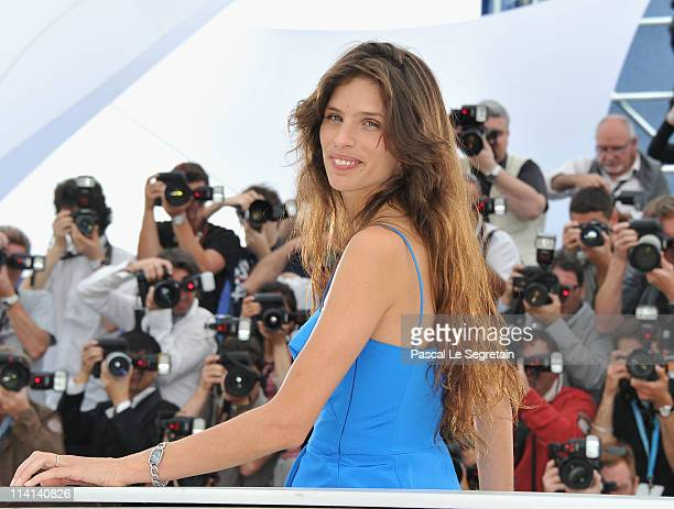 Director Maiwenn Le Besco attends the 'Polisse' photocall at the Palais Des Festivals during the 64th Cannes Film Festival on May 13 2011 in Cannes...