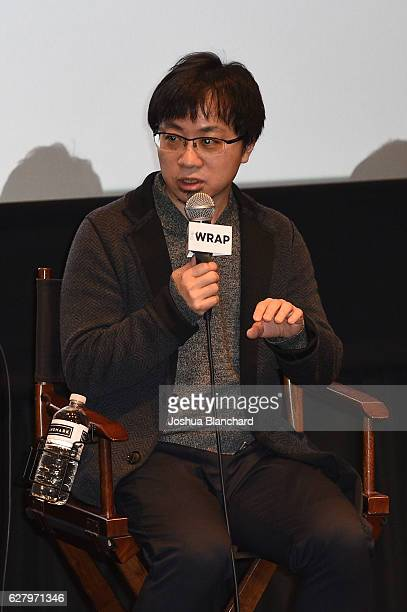 Director Makoto Shinkai attends TheWrap's Special Screening Presentation Of Your Name and Jackie on December 5 2016 in Los Angeles California