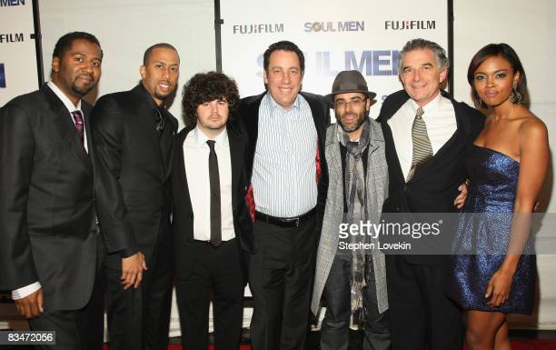 Director Malcolm Lee actor Affion Crockett actor Adam Herschman producer David Friendly producer Steve Greener producer Charles Castaldi and actress...