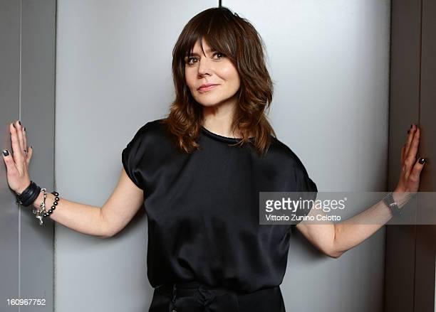 Director Malgoska Szumowska attends 'W imie ' portrait session 63rd Berlinale International Film Festival on February 8 2013 in Berlin Germany