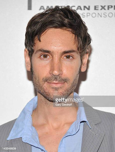 """Director Malik Bendjelloul attends the premiere of """"Searching for Sugar Man"""" during the 2012 Tribeca Film Festival at BMCC Tribeca PAC on April 24,..."""