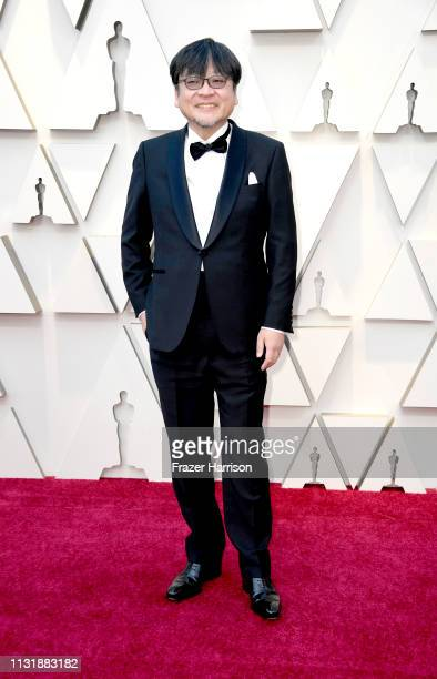 Director Mamoru Hosoda attends the 91st Annual Academy Awards at Hollywood and Highland on February 24 2019 in Hollywood California