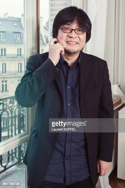 Director Mamoru Hosoda is photographed for Self Assignment on February 22 2010 in Paris France