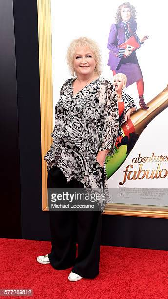 Director Mandie Fletcher attends the Absolutely Fabulous The Movie New York premiere at SVA Theater on July 18 2016 in New York City
