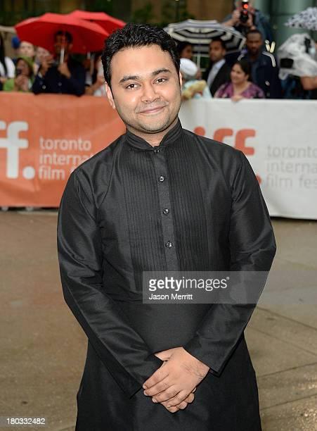 Director Maneesh Sharma arrives at the A Random Desi Romance Premiere during the 2013 Toronto International Film Festival at Roy Thomson Hall on...