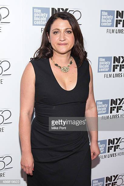 Director Marah Strauch attends the 'Sunshine Superman' premiere during the 52nd New York Film Festival at Alice Tully Hall on October 7 2014 in New...
