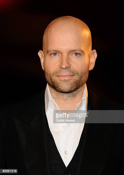 Director Marc Forster attends the Quantum of Solace premiere at the Palau de las Arts on November 06 2008 in Valencia Spain