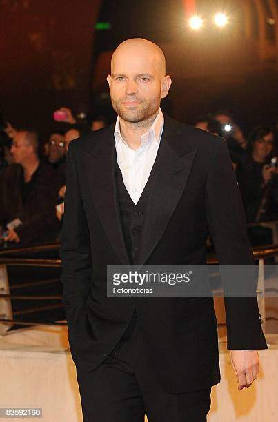 """Director Marc Forster attends the """"Quantum of Solace"""" premiere at the Palau de les Arts on November 6, 2008 in Valencia, Spain."""