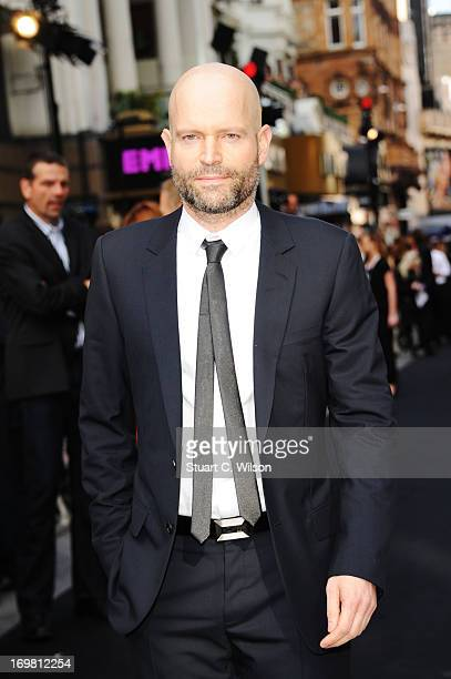Director Marc Forster attends the World Premiere of 'World War Z' at The Empire Cinema on June 2, 2013 in London, England.