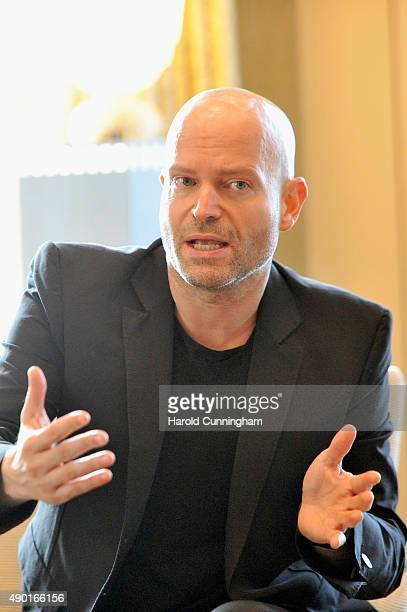 Director Marc Forster speaks on stage at the IWC Schaffhausen Media Breakfast held as part of the 11th Zurich Film Festival at the Dolder Grand Hotel...