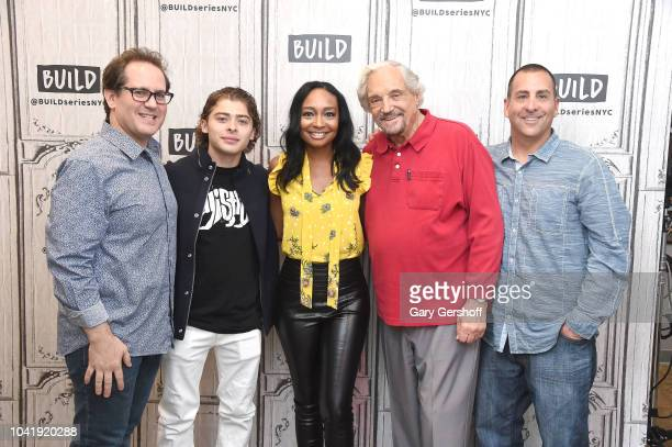 Director Marc Fusco actors Ryan Ochoa Malina Moye Hal Linden and producer Steve Weinberger visit Build Series t discuss the film 'The Samuel Project'...
