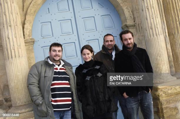 Director Marc Gibaja Actors Gilles Lellouche et Laurent Ournac Actress Marie Gillain.