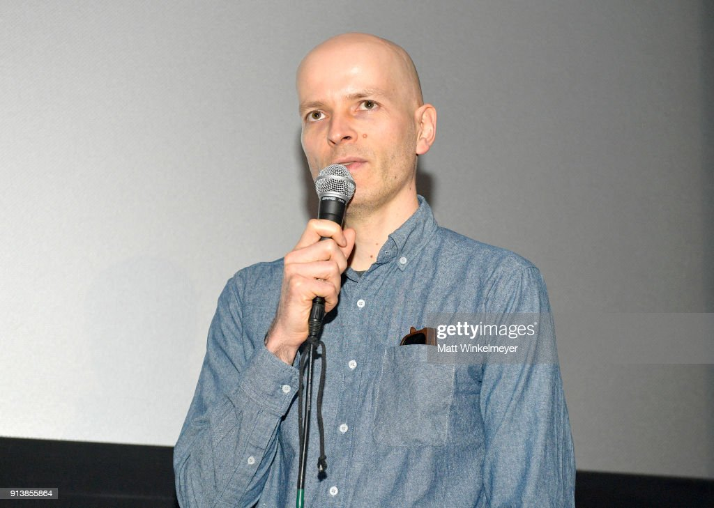 Director Marc Pierschel speaks at a screening of 'The End of Meat' during the 33rd Santa Barbara International Film Festival at the Fiesta Theatre on February 3, 2018 in Santa Barbara, California.