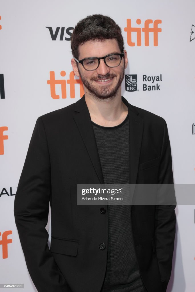 Director Marc-Antoine Lemire poses after being awarded with The IWC Short Cuts Award for Best Canadian Short for 'Pre-Drink' at the 2017 TIFF Awards Ceremony at TIFF Bell Lightbox on September 17, 2017 in Toronto, Canada.