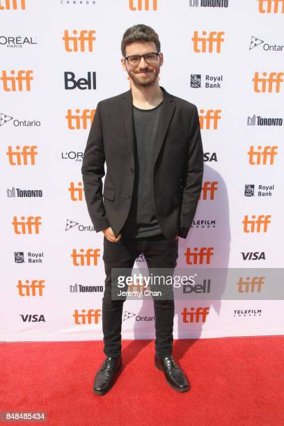 Director MarcAntoine Lemire poses after being awarded with The IWC Short Cuts Award for Best Canadian Short for 'PreDrink' at the 2017 TIFF Awards...