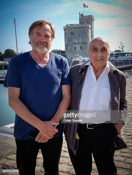 Director Marcel Bluwal and President of Festival Quentin Raspail attend the photocall of 'Dom Juan Ou Le Festin De Pierre' as part of 16th Festival...