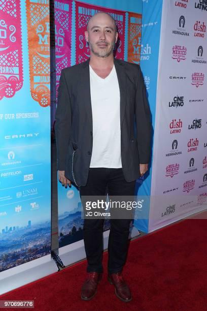 Director Marcelo Tobar attends The HOLA Mexico Film Festival presented by DishLATINO closing night gala at LA Plaza de Cultura y Artes on June 9 2018...