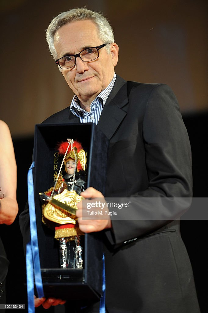 Director Marco Bellocchio attends the Taormina Film Fest 2010 opening ceremony on June 12, 2010 in Taormina, Italy.