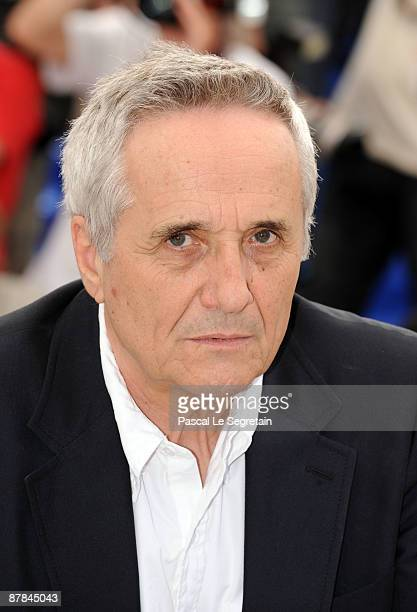 Director Marco Bellocchio attends the Vincere Photocall held at the Palais Des Festivals during the 62nd International Cannes Film Festival on May...