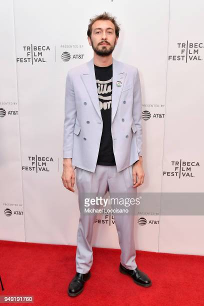 Director Marco Proserpio attends the screening of The Man Who Stole Banksy during the Tribeca Film Festival at Cinepolis Chelsea on April 20 2018 in...