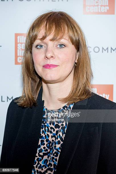 Director Maren Ade attends the 2016 Film Society Of Lincoln Center and Film comment luncheon at Scarpetta on January 4 2017 in New York City