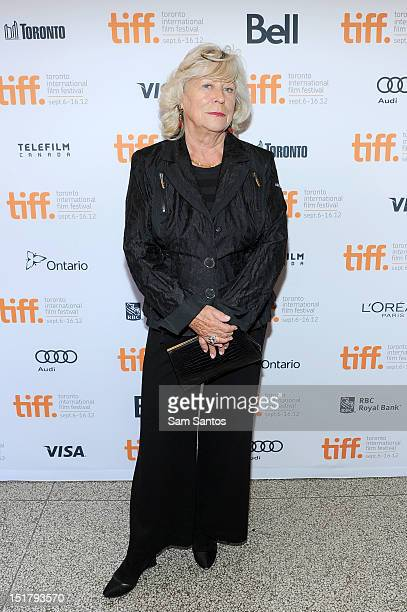 Director Margarethe von Trotta attends the 'Hannah Arendt' Premiere during the 2012 Toronto International Film Festival at The Elgin on September 11...