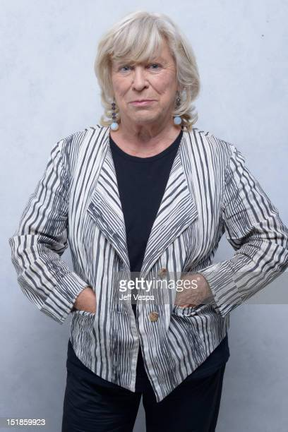 Director Margarethe von Trotta of 'Hannah Arendt' poses at the Guess Portrait Studio during 2012 Toronto International Film Festival on September 12...