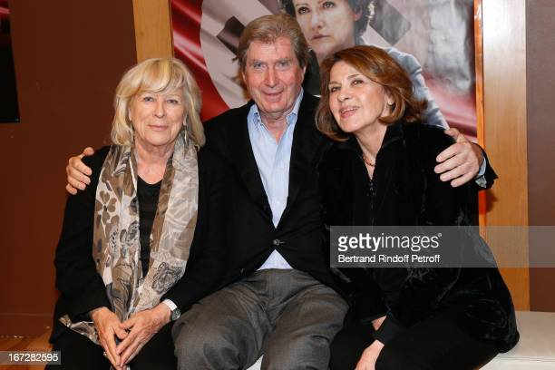 Director Margarethe Von Trotta with Baron Antoine de Clermont Tonnere and his wife Baroness Martine de Clermont Tonnerre attend 'Hannah Arendt' Paris...