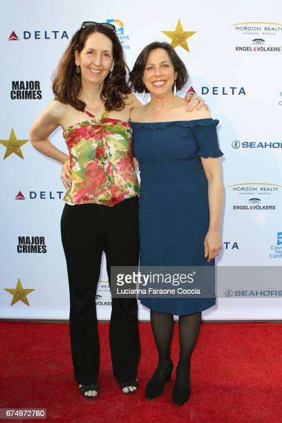Director Maria Burton and VP post production HBO Cynthia Kanner attend Covenant House Gala 2017 at The Globe Theatre on April 29, 2017 in Universal...