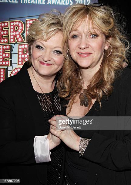 Director Maria Friedman and producer Sonia Friedman attend an after party celebrating the press night performance of the Menier Chocolate Factory's...