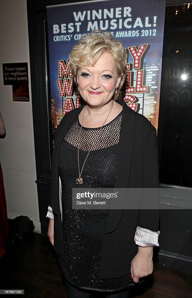 Director Maria Friedman attends an after party celebrating the press night performance of the Menier Chocolate Factory's 'Merrily We Roll Along', following its transfer to the Harold Pinter Theatre, at Grace Restaurant on May 1, 2013 in London, England.