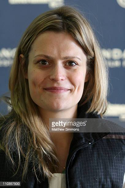 Director Marianna Palka attends the screening of 'Good Dick' during the 2008 Sundance Film Festival at the Racquet Club on January 18 2008 in Park...