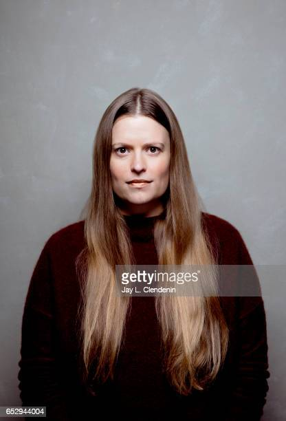 Director Marianna Palka of the film 'Bitch' is photographed at the 2017 Sundance Film Festival for Los Angeles Times on January 19 2017 in Park City...