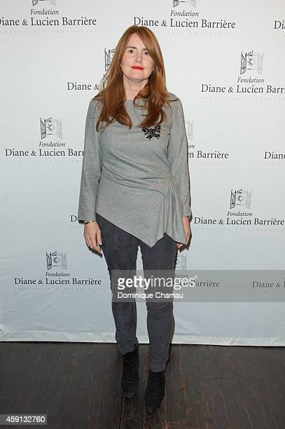 Director MarieCastille MentionSchaar attends 'Les Heritiers' Premiere Hosted by Fondation Diane Lucien Barriere at Publicis Champs Elysees on...