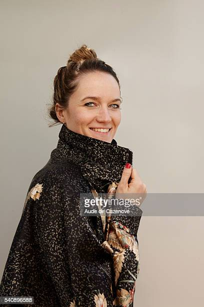 Director Marielle Gautier is photographed for Self Assignment on May 17 2016 in Cannes France