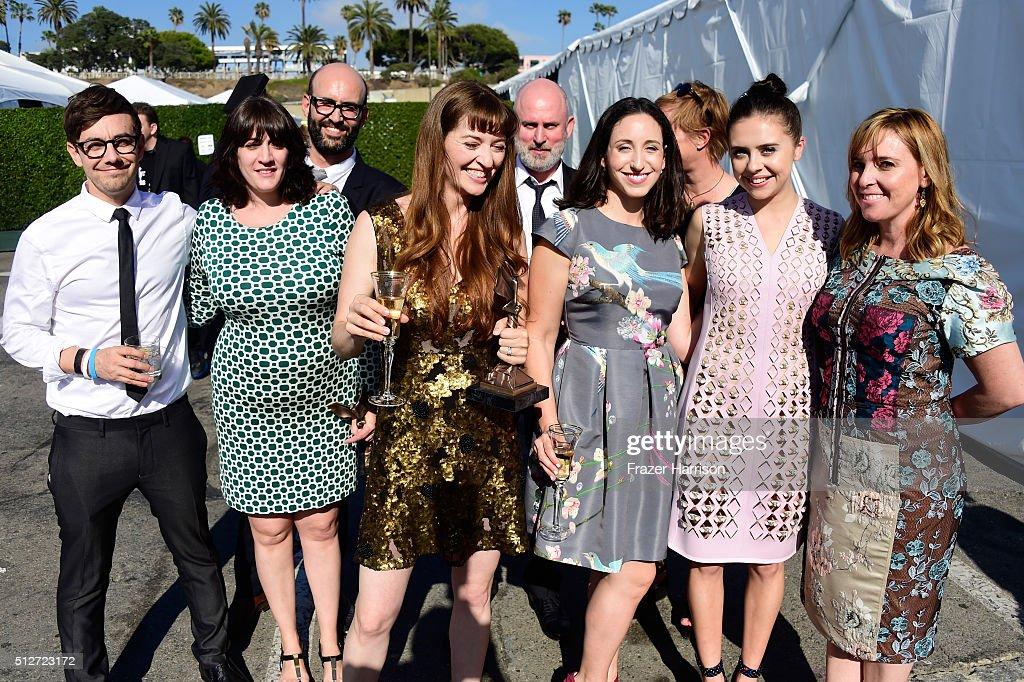 2016 Film Independent Spirit Awards - Inside Sponsor Shots : News Photo