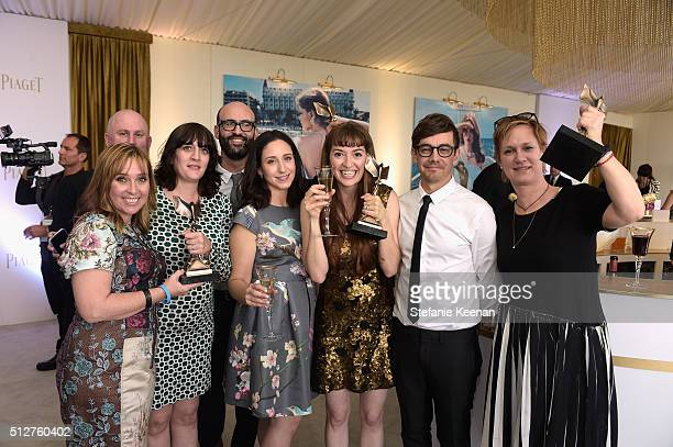 Director Marielle Heller and the cast and crew of 'Diary of a Teenage Girl' attend the 2016 Film Independent Spirit Awards sponsored by Piaget on...