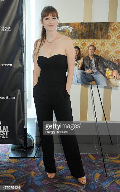 Director Marielle Heller arrives at the 2015 Los Angeles Film Festival screening of Diary Of A Teenage Girl at Regal Cinemas LA Live on June 13 2015...
