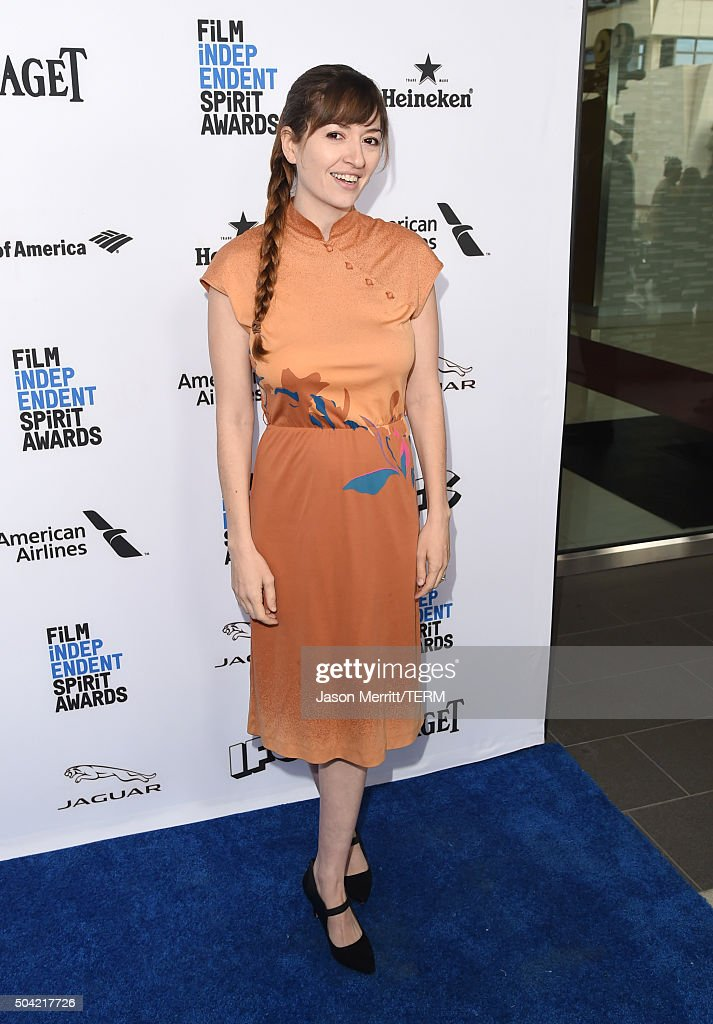Director Marielle Heller attends 2016 Film Independent Filmmaker Grant and Spirit Award Nominees Brunch at BOA Steakhouse on January 9, 2016 in West Hollywood, California.