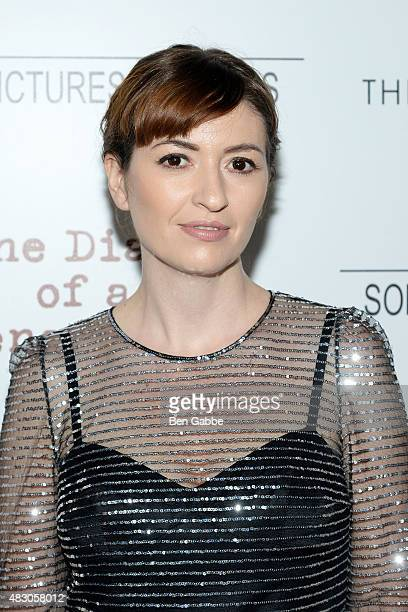 Director Marielle Heller attends Sony Pictures Classics with The Cinema Society host a Screening Of The Diary Of A Teenage Girl at Landmark Sunshine...