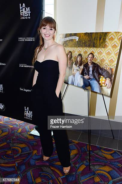Director Marielle Heller attends the Diary of a Teenage Girl screening during the 2015 Los Angeles Film Festival at Regal Cinemas LA Live on June 13...
