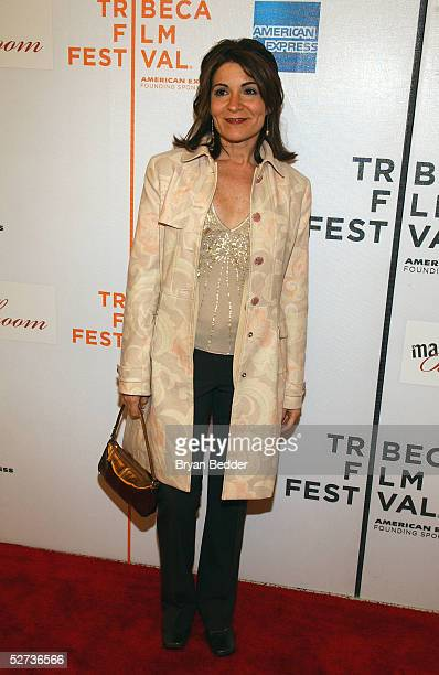 Director Marilyn Agrelo attends The ASCAP Music Lounge at the Tribeca Film Festival April 29 2005 in New York City